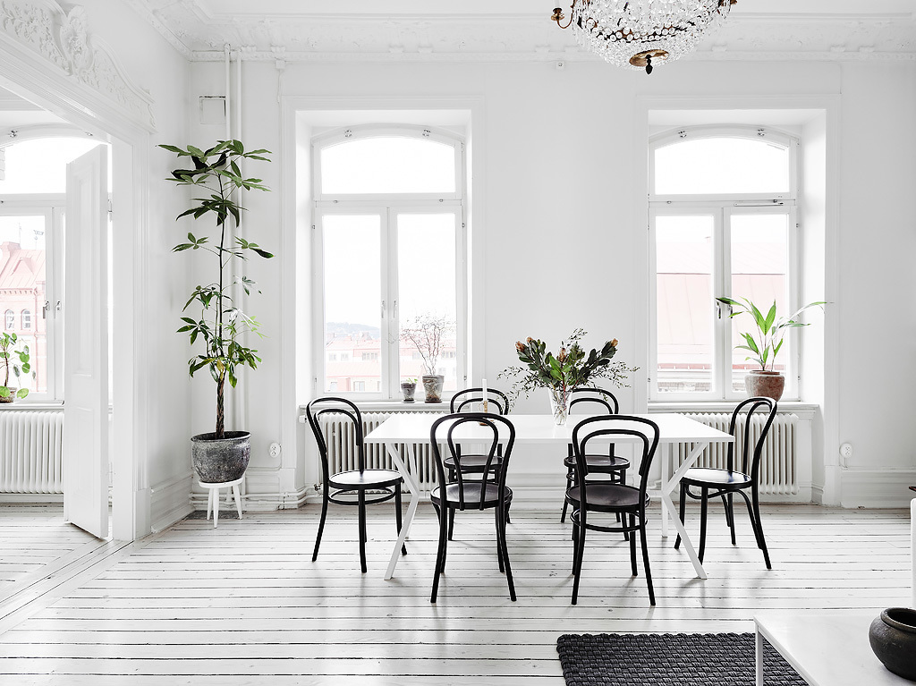 thonet chair black, iconic seatings, design icons, chairs, black chairs design, interior trends, italianbark interior design blog