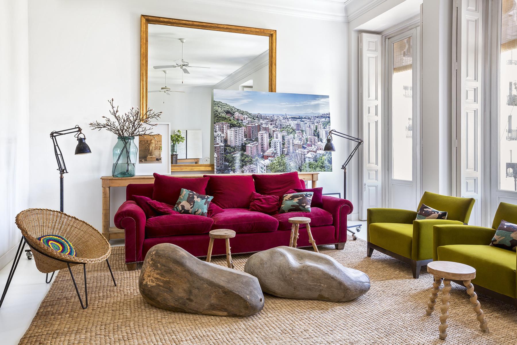 Colourful Bohemien Home, Madrid Interior, Boho Apartment, Fucsia Home  Decor, Italianbark Interior