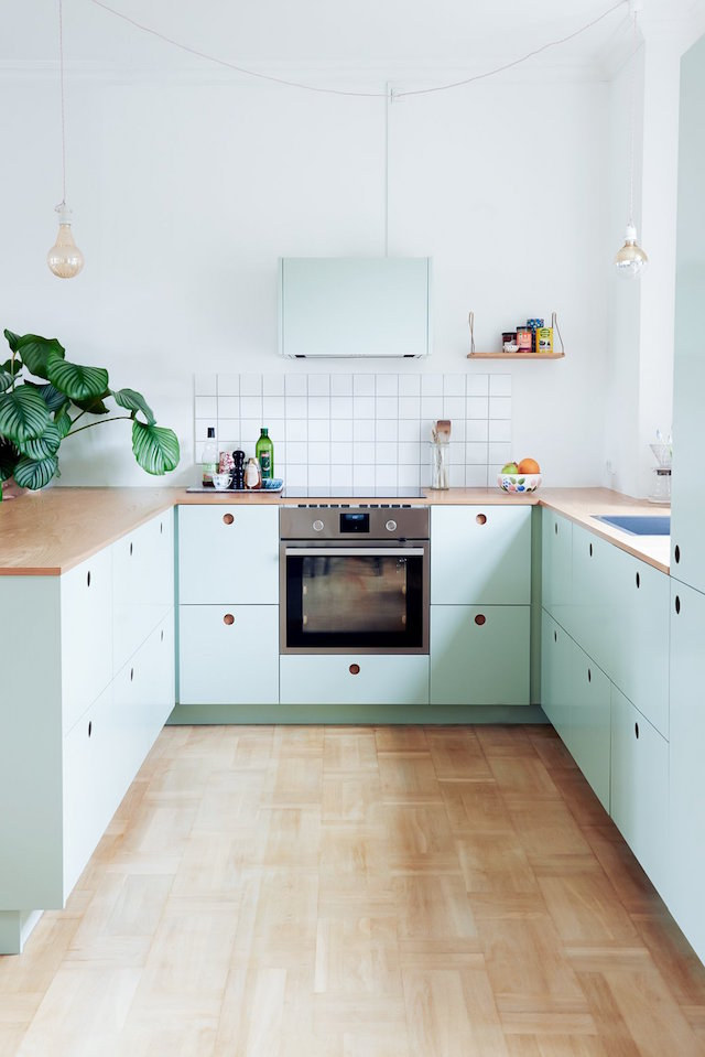 colourful kitchen ideas, kitchen design, italianbark interiordesignblog, mint kitchen