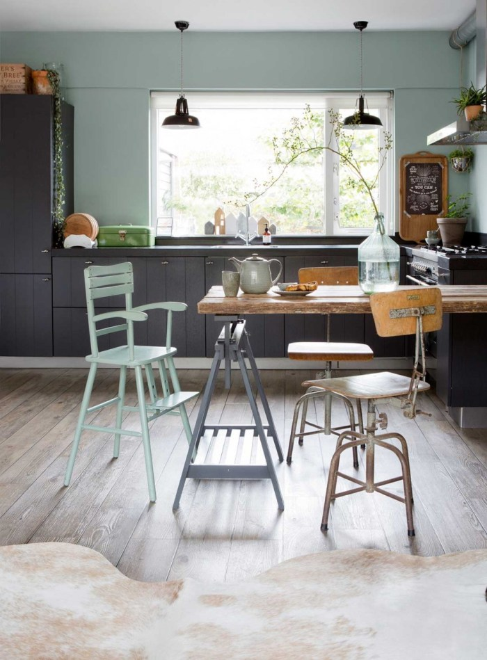 colourful kitchen ideas, kitchen design, italianbark interiordesignblog, green kitchen