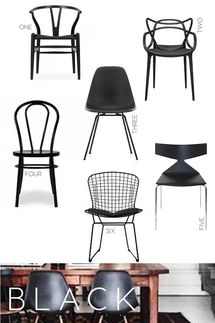 iconic seatings, design icons, chairs, black chairs design, interior trends, italianbark interior design blog