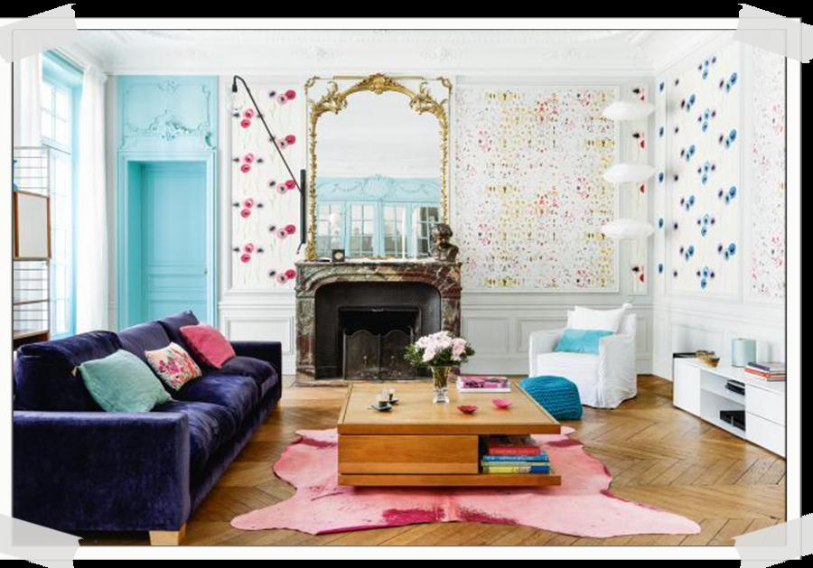 HOME TOUR | A colourful apartment in Paris | ITALIANBARK