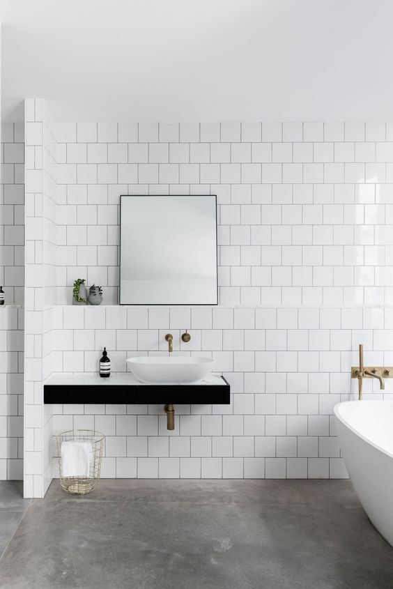 Small Bathroom Remodel Moodboard And Layout