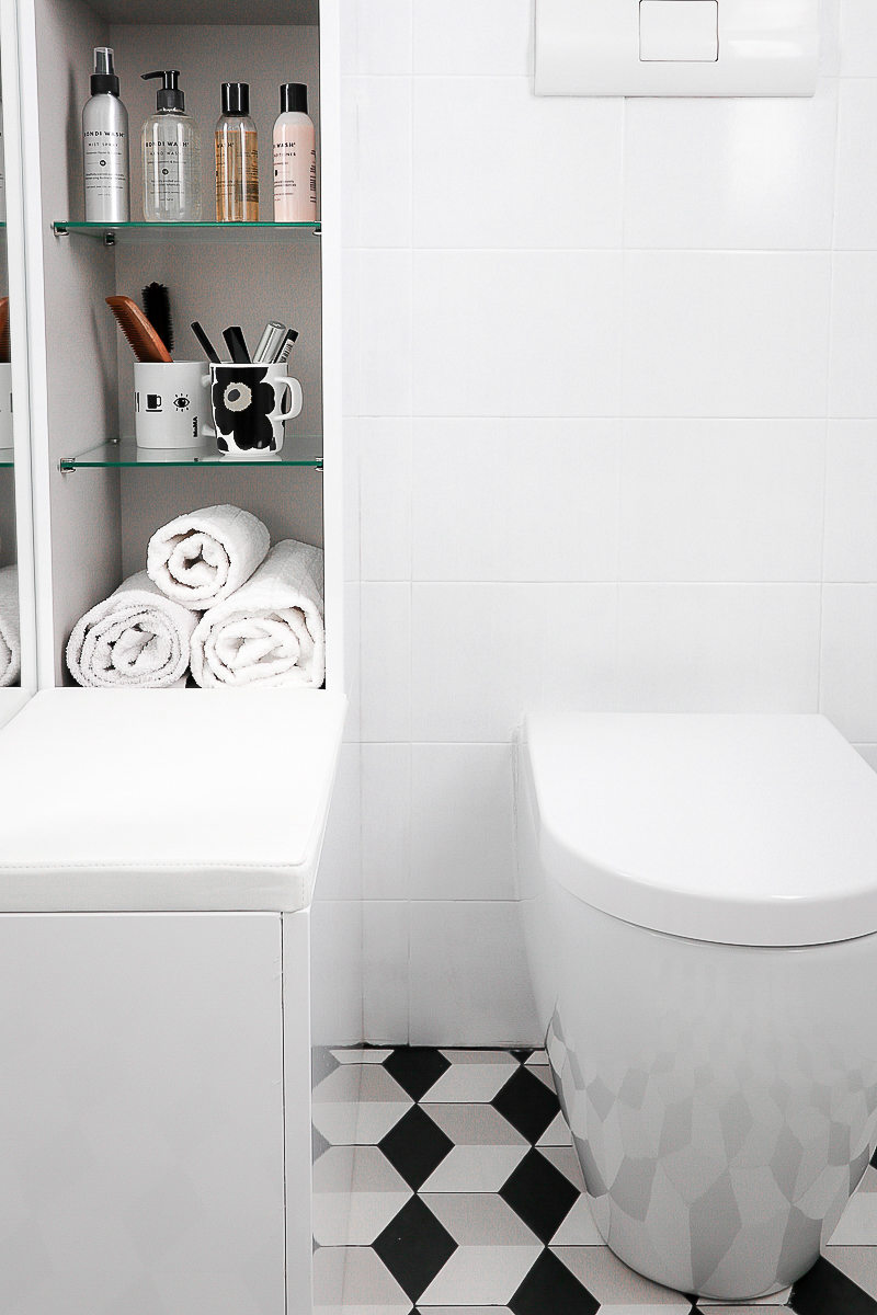 My Bathroom Before After | Complete makeover of small bathroom