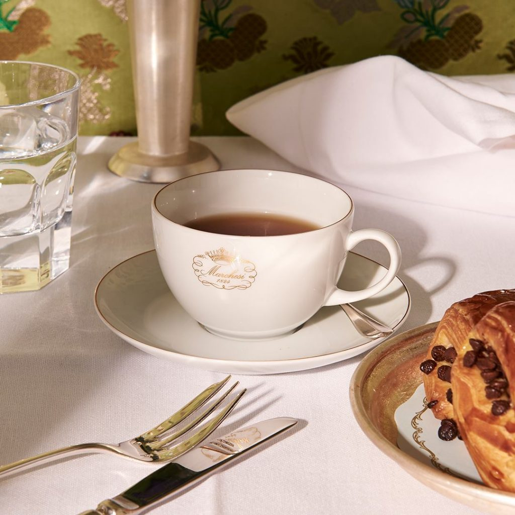 pasticceria marchesi, best cafes in milan, psticceria milano, café design milan