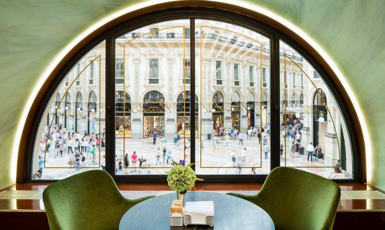 pasticceria marchesi, best cafes in milan, pasticceria milano, café design milan
