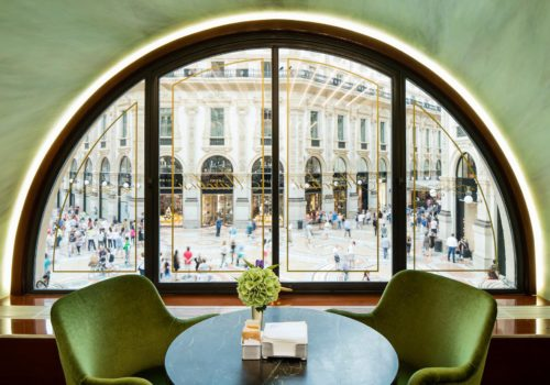 ITALIAN INTERIORS | A Taste of Luxury at Pasticceria Marchesi | An American in Milan