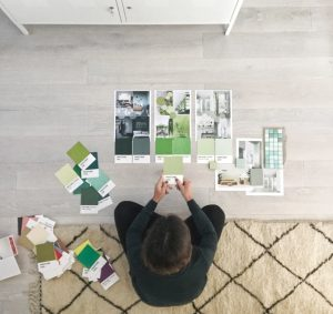 interior color trends 2019, interior trends 2018, pastel trend, green interiors, italianbark, pantone green