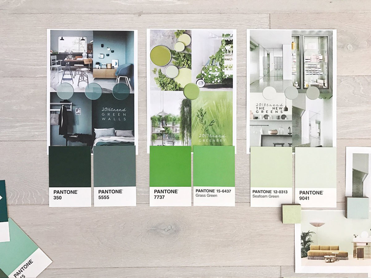 Interior color trends the new pastel greens from imm for Interior design 2018 color trends