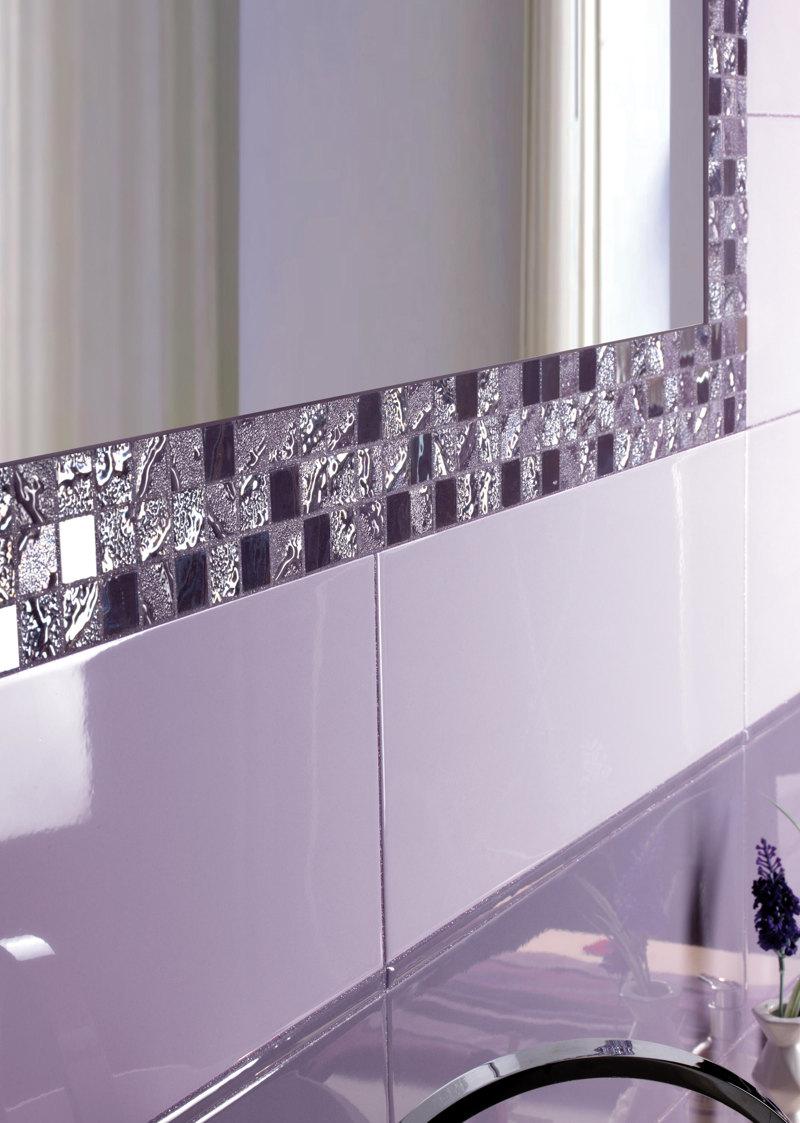 Ceramiche Supergres, Four Seasons Tulip, lilac tiles, pantone 2018 home decor,