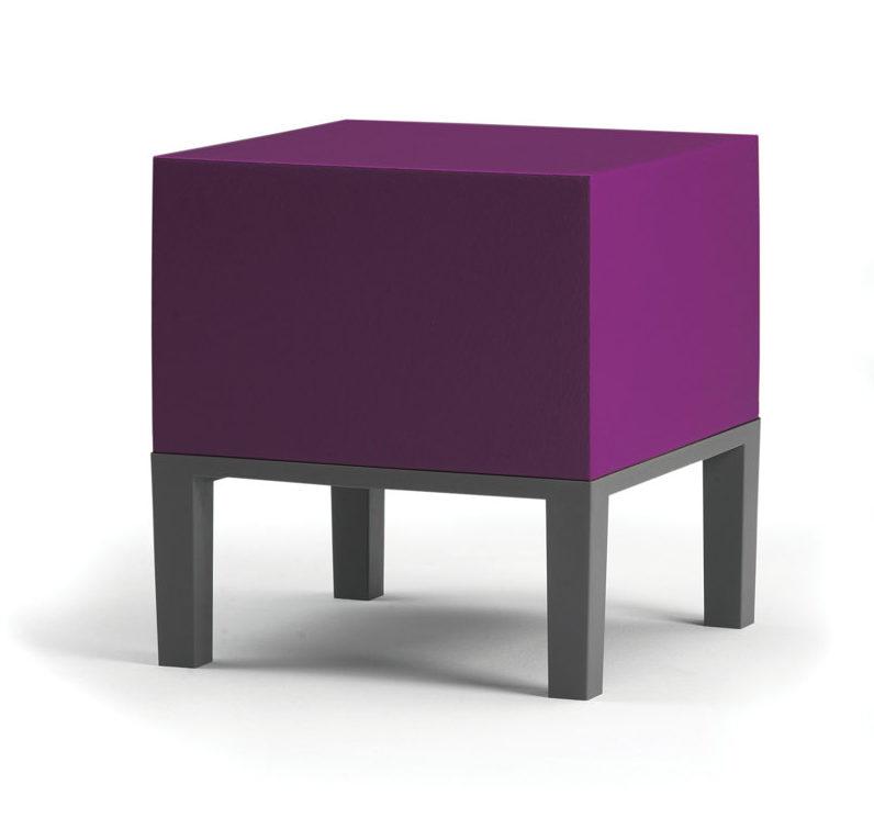 Quinze & Milan, Primary Pouf, pantone 2018 furniture, ultraviolet design
