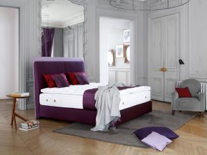Treca, Paris Saint Germain Headboard, pantone 2018 home decor, violet bed