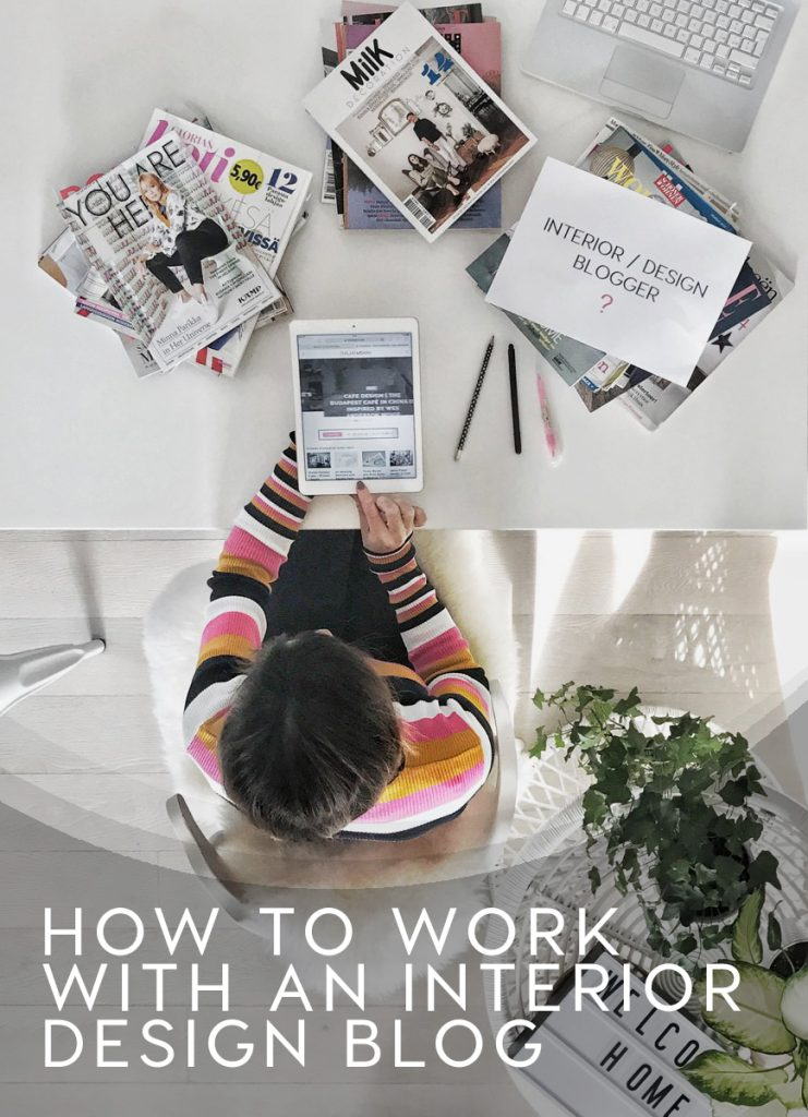 how to work with an interior design blog, interior design blogger italy, italianbark interior design blog