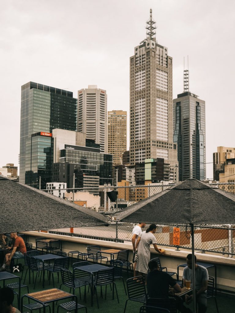 Melbourne Design Guide, melbourne rooftops, cafe design, curtin house