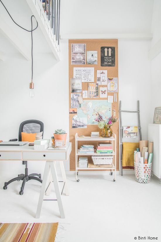 Office Decorating Ideas Blog A big space for moodboards | small office decorating ideas