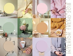 Interior color trends 2019 | Pastel interiors and more color