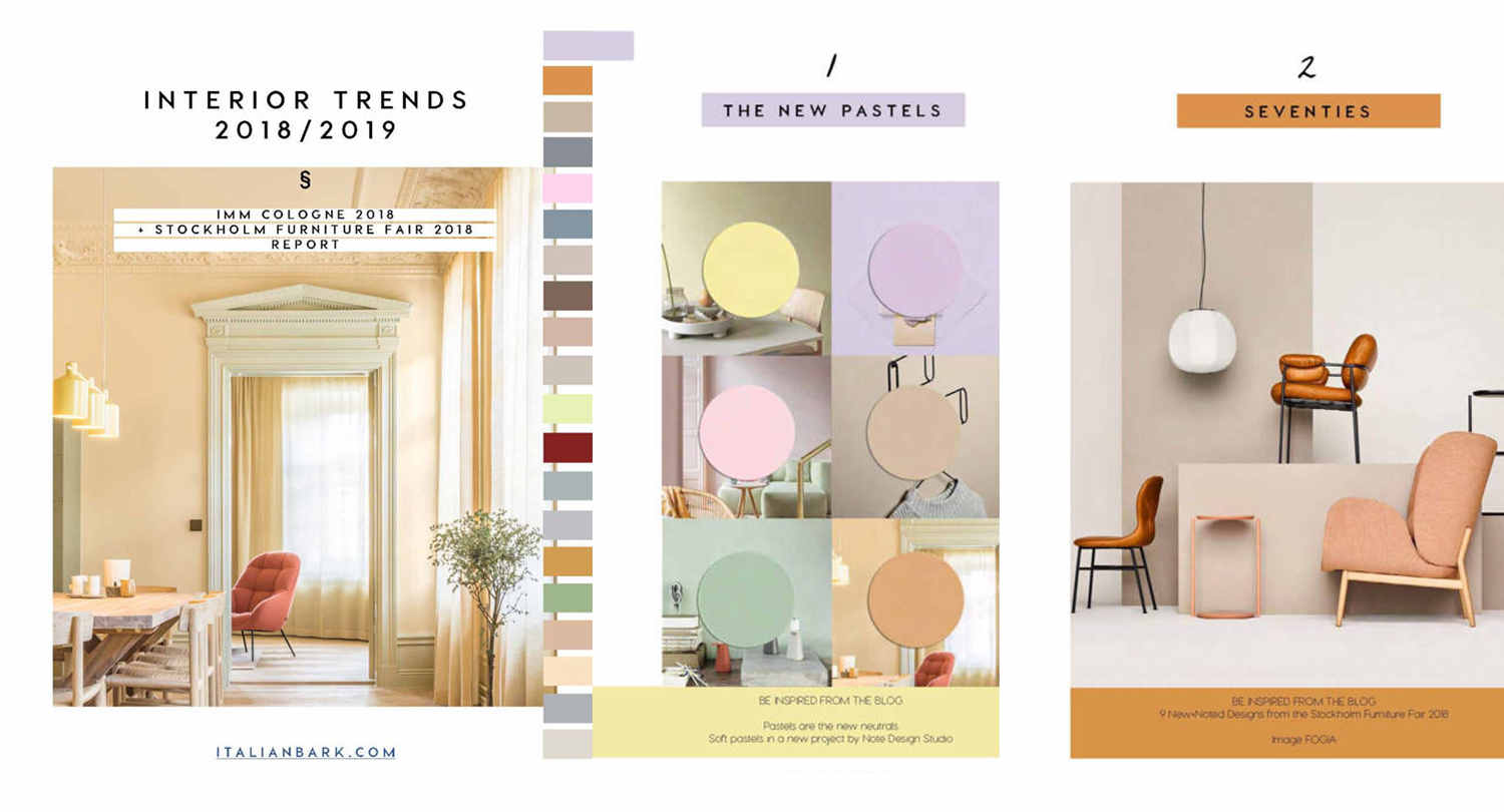 INTERIOR DESIGN TRENDS | The New 2019 Downloadable Guide is Online