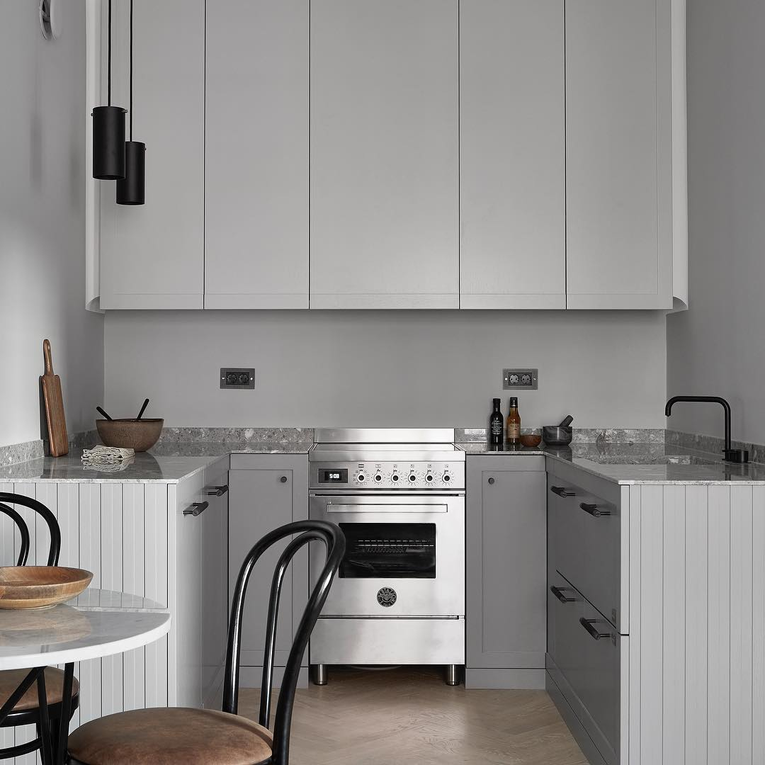 Scandinavian minimalism, minimalist kitchen design