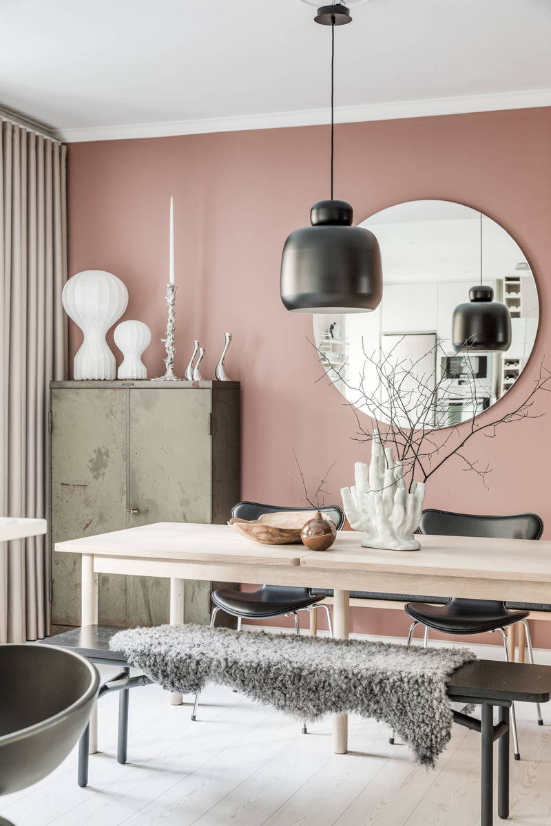 Decorate With Pink, Pink Walls, Pink Interiors, Italianbark Interior Design  Blog