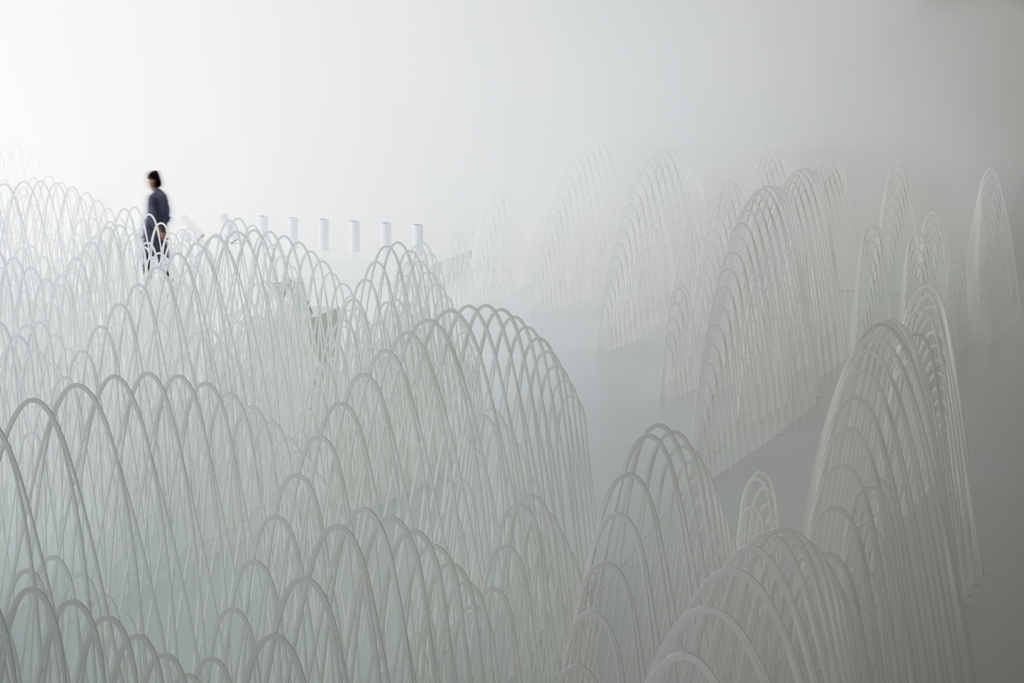 Invisible Outlines by Nendo at Fuorisalone 2017