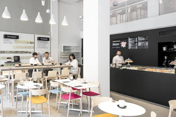 milan design guide, where to eat in milan, moleskine cafe