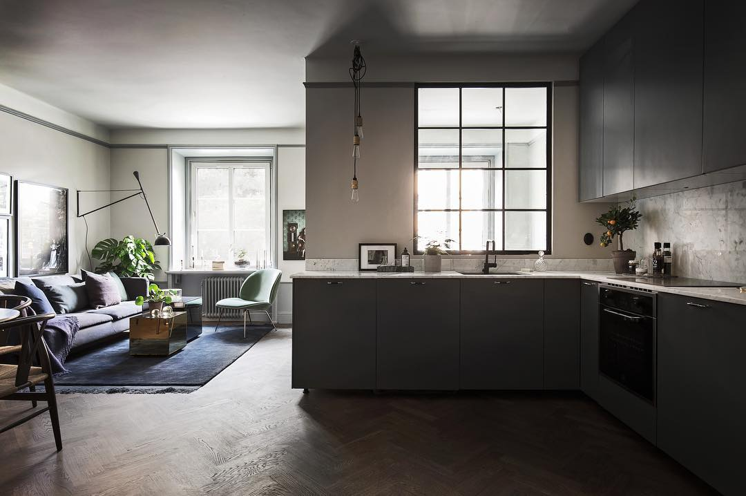 minimalist kitchen design, scandinavian style kitchen, bertazzoni, italianbark interior design blog