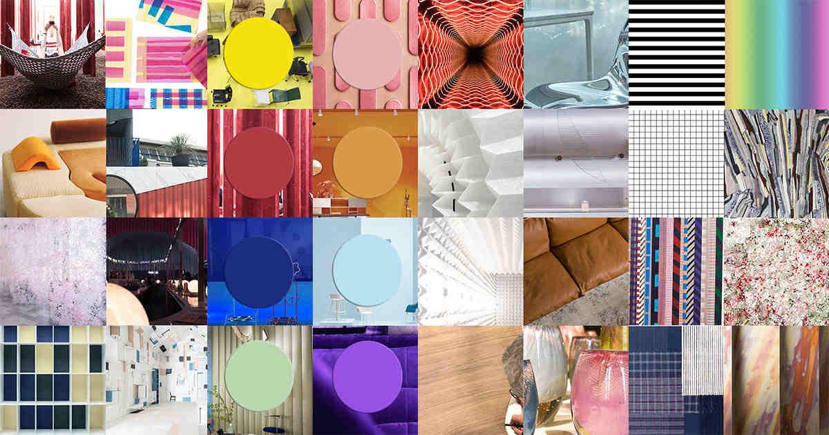 Trends + News from the Italian Furniture Fair MILAN DESIGN WEEK 2018