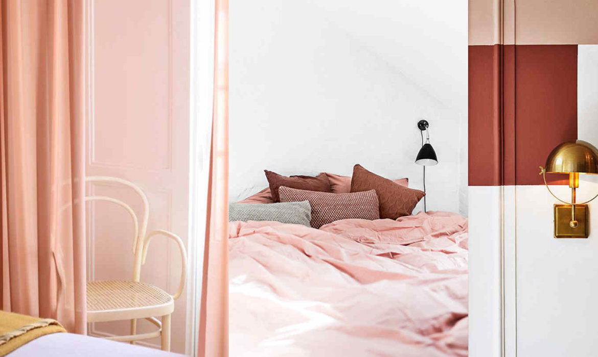 the colour everybody seems to love now in interiors and its not pink - Bedroom Design Blogs