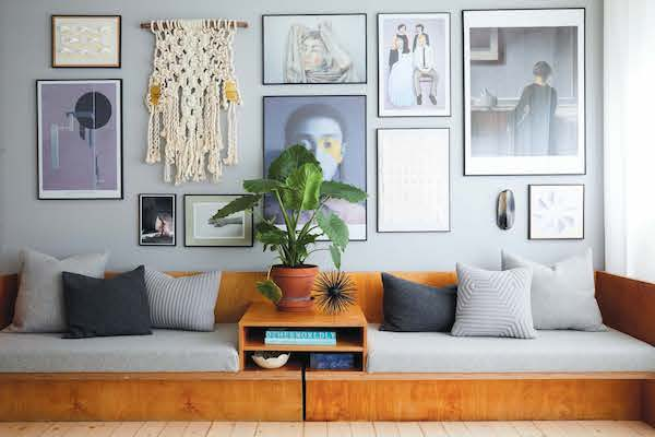 Incredible Scandinavian Interior With Raw Surfaces And Light Blue Walls Inzonedesignstudio Interior Chair Design Inzonedesignstudiocom