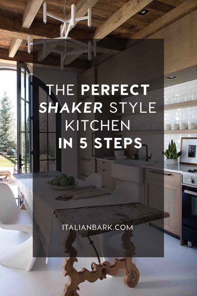 shaker style interiors, shaker kitchen, kitchen design, italianbark interior design blog