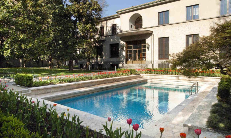 ITALIAN INTERIOR STYLE, MILANESE HOMES, VILLA NECCHI MILAN, italianbark interior design blog