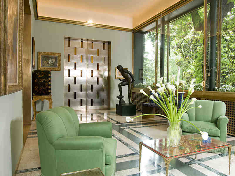 ITALIAN INTERIOR STYLE, MILANESE HOMES, VILLA NECCHI MILAN, italianbark interior design blog