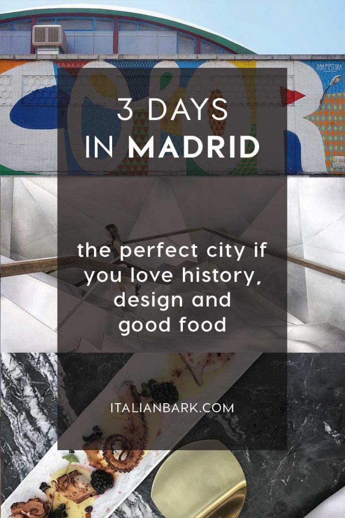 visit madrid, 3 days in madrid, italianbark interior design blog, madrid design