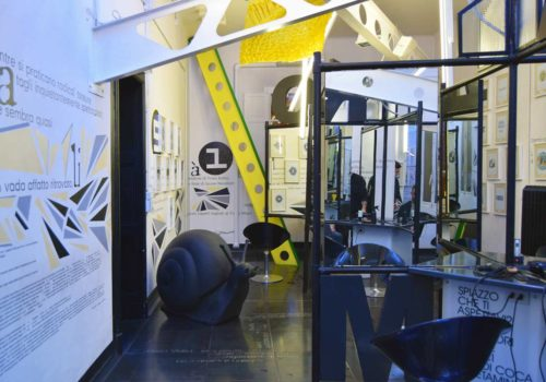 ITALIAN INTERIORS | Orea Malià salon, an edgy interior design paradise