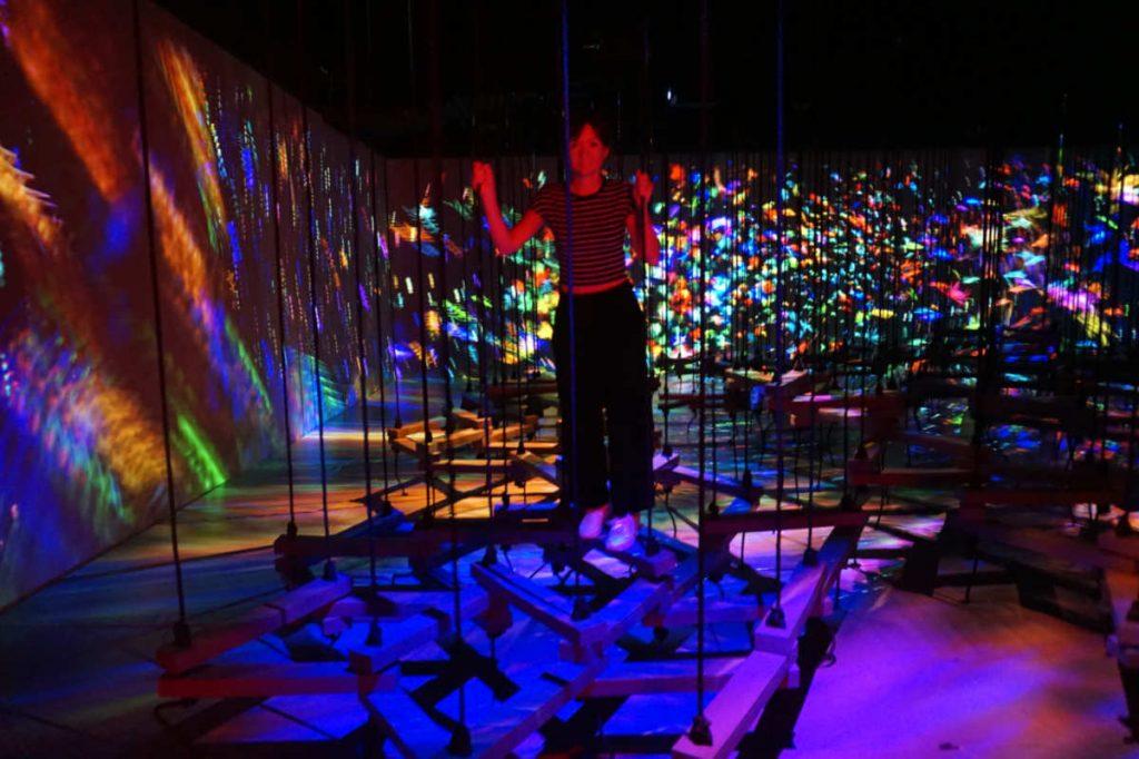 teamlab tokyo, digital art museum, bodless teamlab, best museum tokyo