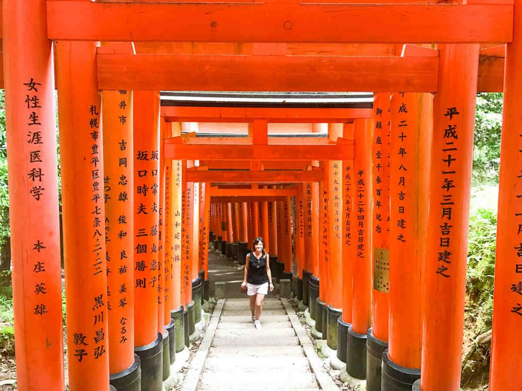Kyoto, Fushimi-Inari - 10 days japan travel