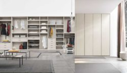 Choosing the perfect wardrobe for a minimalist bedroom design