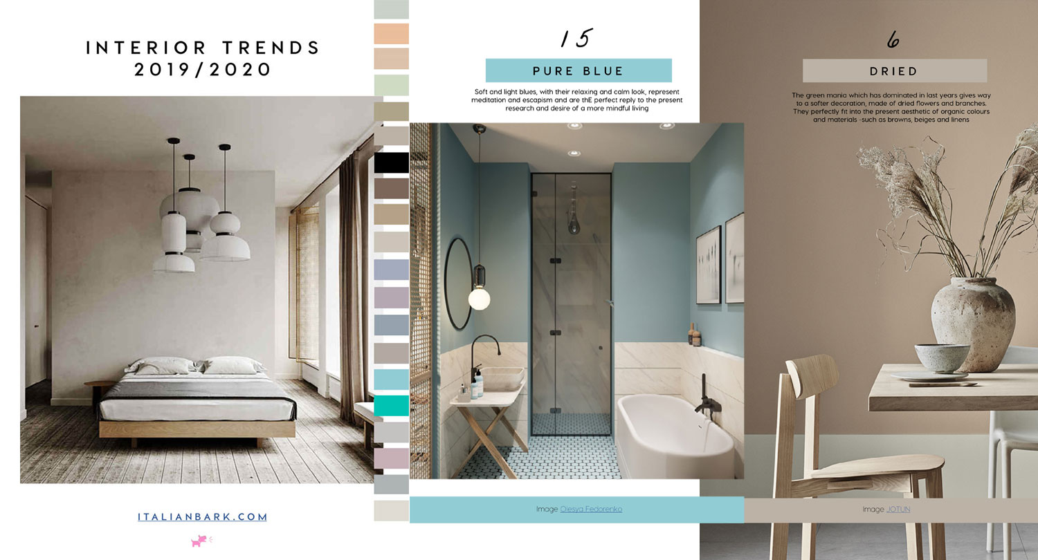 Interior Design Tendenze 2018 interior trends 2019 | the new downloadable guide is online