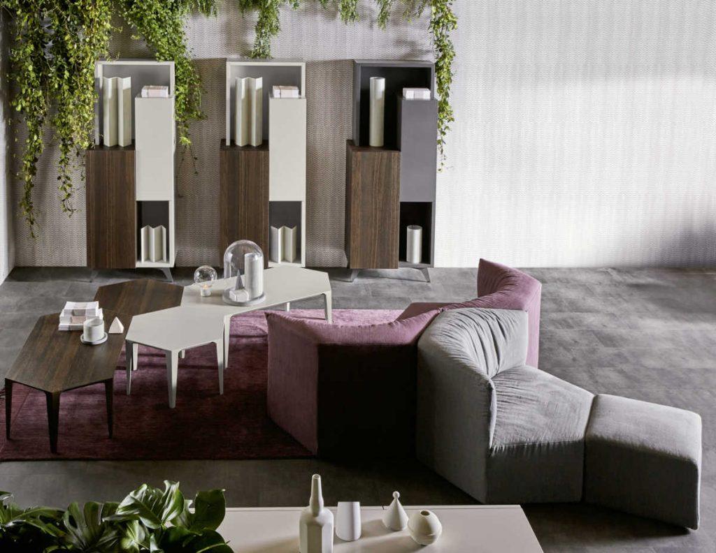 Fiera Del Mobile Colonia 2018 italian design zanette smart solutions for the living room