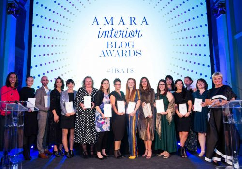Thank You: ITALIANBARK won at the Amara Interior Blog Award 2018
