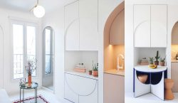 HOME TOUR | Clever Small Apartment Solutions by a French…