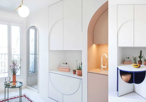 HOME TOUR | Clever Small Apartment Solutions by a French Studio