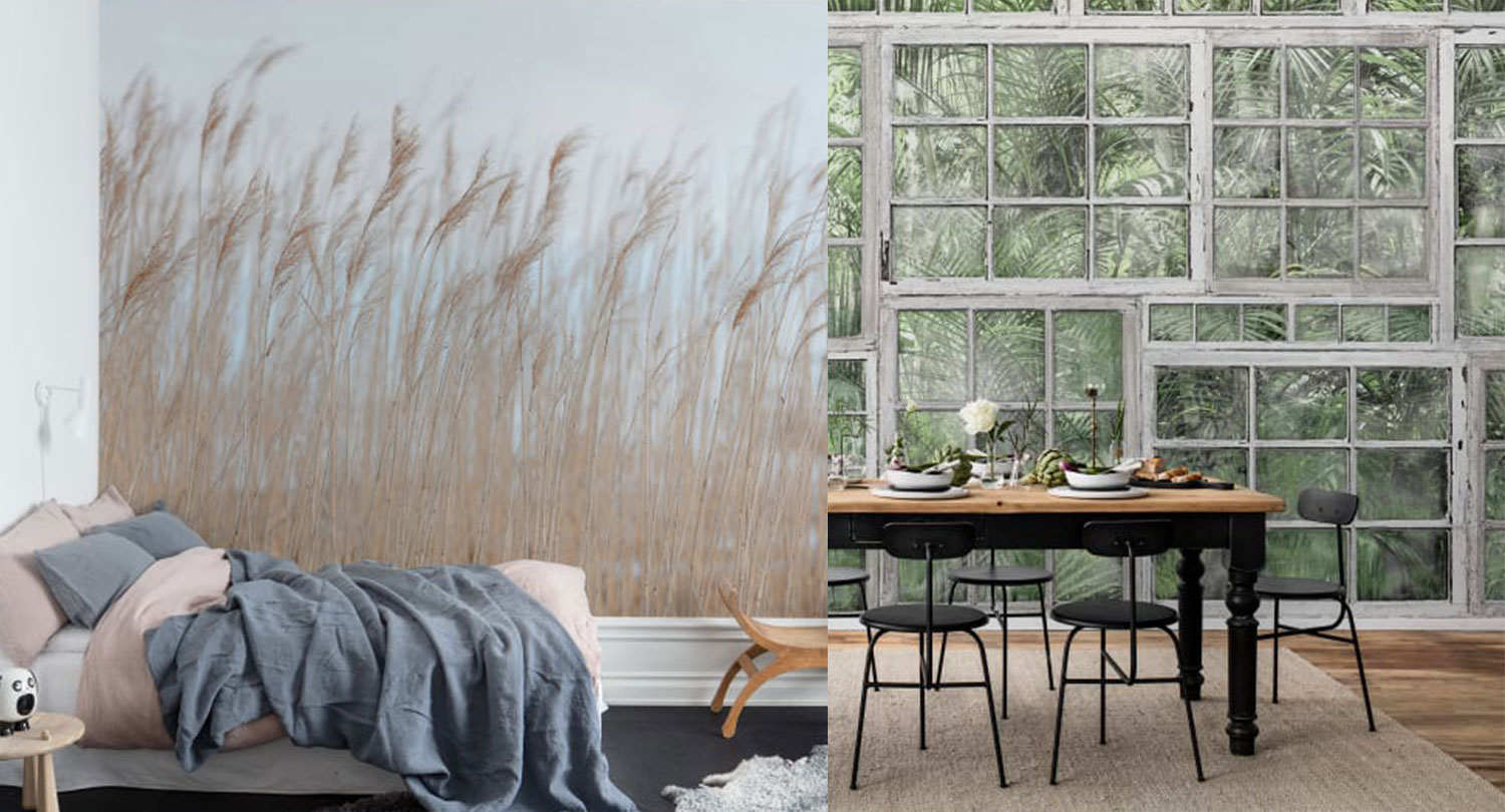 wallpaper trends 2019, rebelwalls, italianbark interior design wall