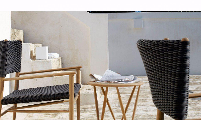 teak outdoor furniture, unopiu, italian design italianbark