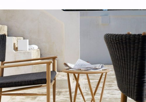 teak outdoor furniture, unopiu, italian design italianbark