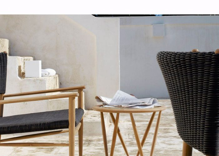 Enjoy the outdoor in wintertime with these furniture by Unopiù