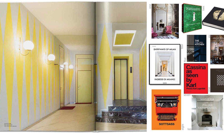 ITALIAN DESIGN | 10 Chic Coffee table Books on Italian Design