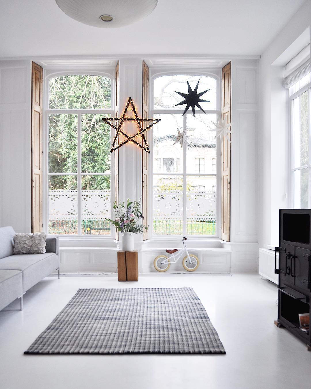 Scandinavian interior design Instagram Christmas Inspo