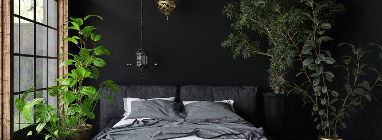 how to brighten a dark room