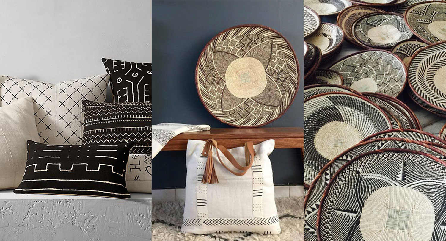 buy african inspired decor, italianbark interior design blog, ethnic chic interior style,